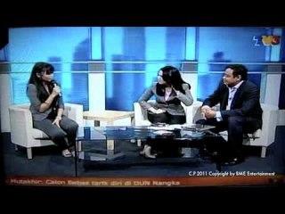 "Farina at MHI ""Yang Benar"" TV Promo (Interview) 7th April 2011"