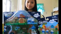 The Smurfs Micro Village Build Smurfs Village Miniatures Kids Toys
