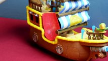 Jake and The Neverland Pirates Toy Bucky Music Ship Parrot