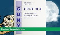Best Price Preparing for the CUNY-ACT Reading and Writing Exam (2nd Edition) Eileen Ferretti For