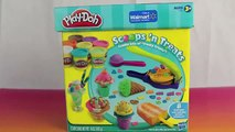 Play Doh Scoops 39 N Treats Ice Cream Cones Popsicles Scoops Sundaes and Play Doh Waffle Cones