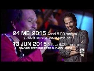 Konsert M.NASIR …kembara - teaser