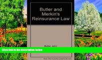 Online John Butler Butler and Merkin s Reinsurance Law Audiobook Epub