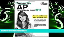 Download Princeton Review Cracking the AP Psychology Exam, 2012 Edition (College Test Preparation)