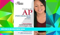 Price Cracking the AP Psychology Exam, 2009 Edition (College Test Preparation) Princeton Review On