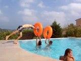 plongeon bouée piscine