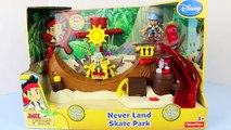Jake And The Never Land Pirates Neverland Skate Park Captain Hook Pirate Treasure