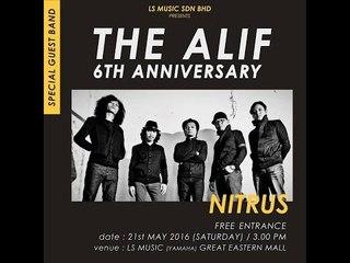 Persembahan Nitrus di The Alif 6th Anniversary