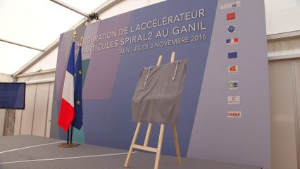 Inauguration de l'accélérateur de particules SPIRAL2 au GANIL
