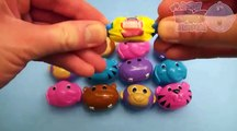 Learn Colours for Kids! Opening Animal Surprise Eggs For Toddlers! Filled with Candy, Gum and Fun!