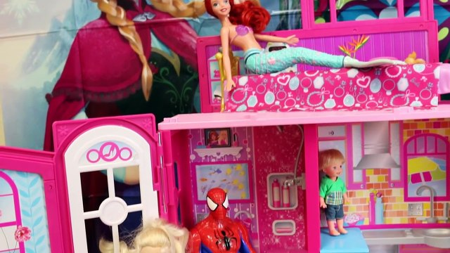 HUGE SURPRISE TOYS CHALLENGE Surprise Toys Batman & Barbie Dollhouse Hunt Spiderman vs DisneyCarToys