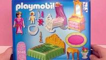 Chambre à coucher avec berceau Playmobil | Chambre à coucher dans un château de princesse | Set 5146