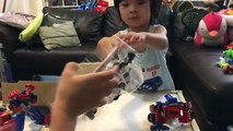 Optimus Prime - Transformer Toys Collection - Combiner Wars & Rescue Bots Transformers Toys Unboxing