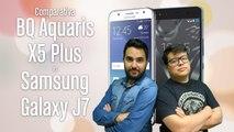 Samsung Galaxy J7 VS BQ Aquaris X5 Plus: ¿Cuál es mejor? Comparativa