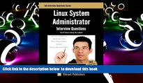 PDF [FREE] DOWNLOAD  Linux System Administrator Interview Questions You ll Most Likely Be Asked