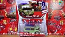 Disney Pixar Cars Chase Diecast Single Pack Miles Axlerod with open Hood 1:55 Scale Mattel