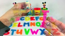 Leer Nummers 1-9 en het Alfabet in het Engels FROZEN MICKEY MOUSE PEPPA PIG Filmpje voor Kleuters