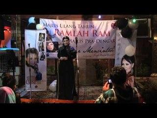 Cinta Gila (Live) - Ramlah Ram @ Majlis Ulang Tahun RR 2011-Pra Dengar