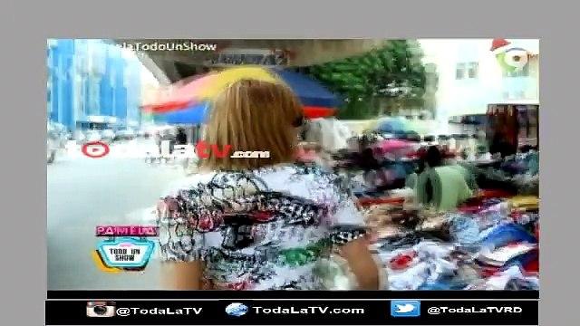 Pamela Sued  Y Luz Garcia en una guerra de pacas para ver quien se viste mejor- Pamela Todo Un Show-Video