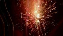 Lichtjesavond met schitterend vuurwerk winkelcentrum Maaswijk / Spijkenisse 2016