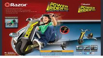 Best Razor Power Rider Tricycle Electric Tricycle By Razor