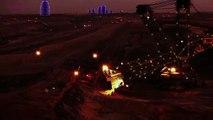 Sci-Fi! Ore mining on Mars - Erzabbau auf dem Mars - मंगल ग्रह पर अयस्क खनन