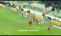 Kubilay Kanatsizkus Goal HD - Bursaspor 1-0 Antalyaspor - 19.12.2016