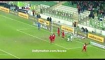 Goal ! Kubilay Kanatsizkus - Bursaspor 1-0 Antalyaspor - 19.12.2016