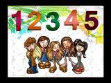 Los Numeros para Niños en Español - Canción de los Números - Aprender los Numeros del 1 al 10