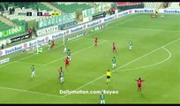 Deniz Kadah Goal HD - Bursaspor 2-1 Antalyaspor - 19.12.2016