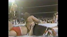Midnight Express vs Rock and Roll Express (NWA with Japanese Commentary)