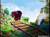 The Train High quality animated Rhymes (Zuck Zuck Ghadi Animated kidsone song)