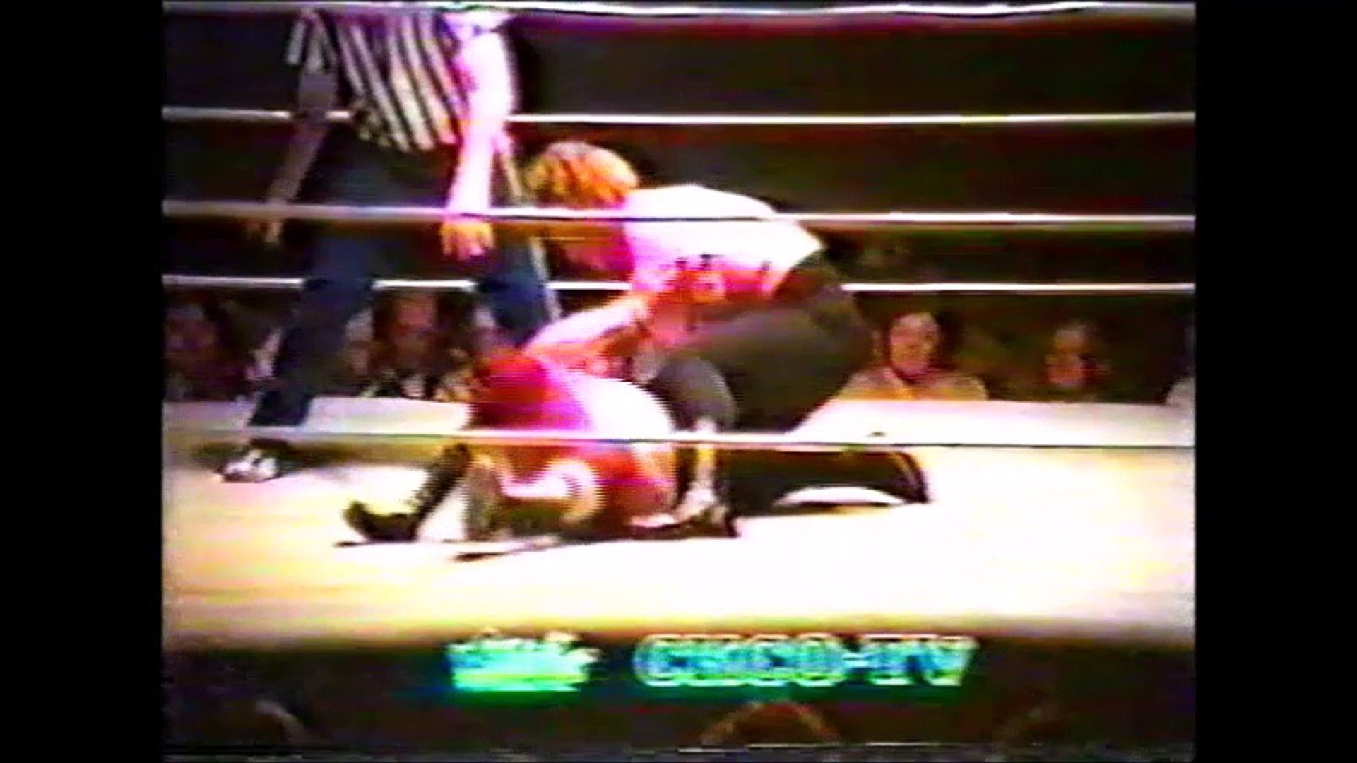 Crusher Haig vs Moondog Moretti (All Star Wrestling Vancouver)
