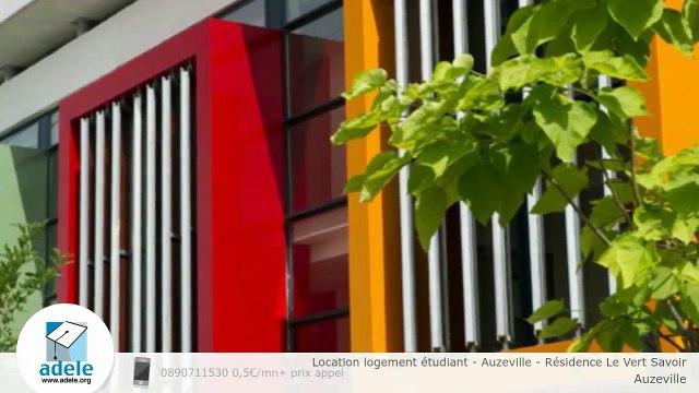 Location logement étudiant - Auzeville - Résidence Le Vert Savoir