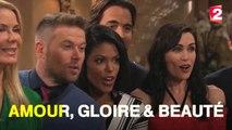 Les acteurs d'Amour, Gloire & Beauté chantent le générique en Français