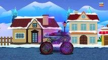 Haunted House Monster Truck - Haunted House Monster Truck VS. Santa | Episode 9 | Christmas Special