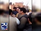 Intense Fight Between Chaudhry Nisar's Nephew and PTI Workers