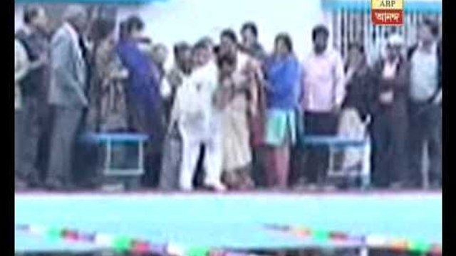 After Chetla now in Saltlake:TMC  councillor dunked in swimming pool