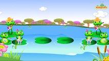 Frog Finger Family - Popular #NurseryRhymes Collection I Kidipedes Children Songs