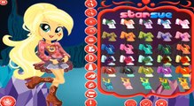 Legend of Everfree Applejack - My Little Pony Equestria Girls Game