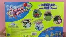 Water Wackers - Tennis avec des bombes à eau | Celui qui nest pas mouillé a gagné! | Unboxing