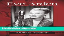 Download Eve Arden: A Chronicle of All Film, Television, Radio and Stage Performances Epub Full Book
