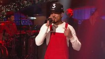 Chance the Rapper Performs 'Finish Line' and 'Same Drugs' on SNL