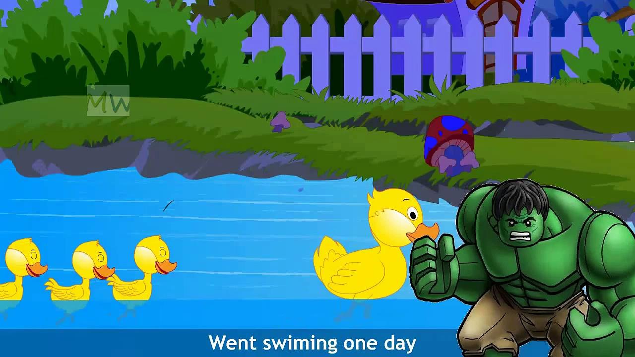 Five Little Ducks | Best Nursery Rhymes for Children | Five Little Ducks English Rhyme Songs