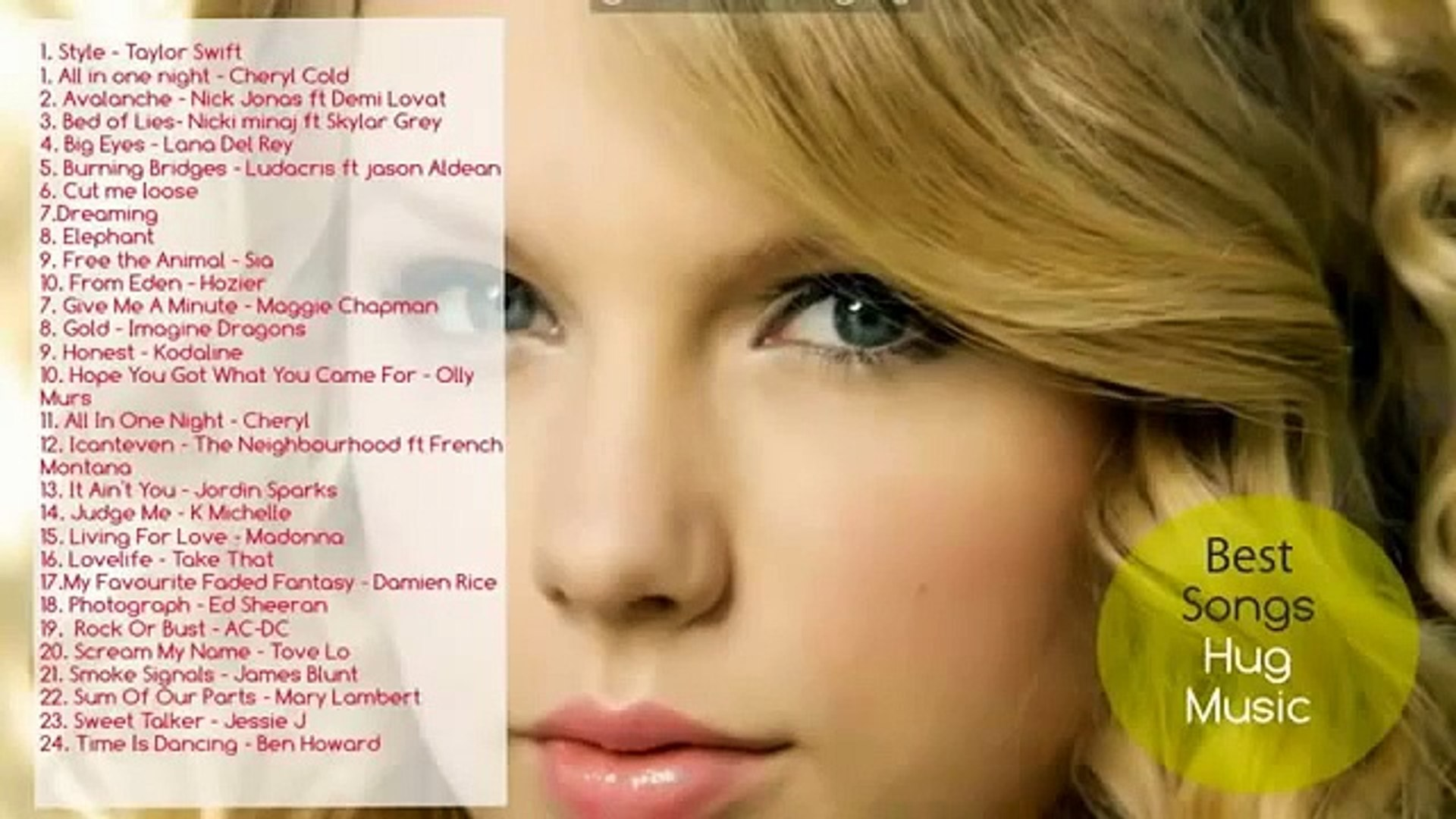 Taylor Swift Full Album 2015 - Taylor  part 4