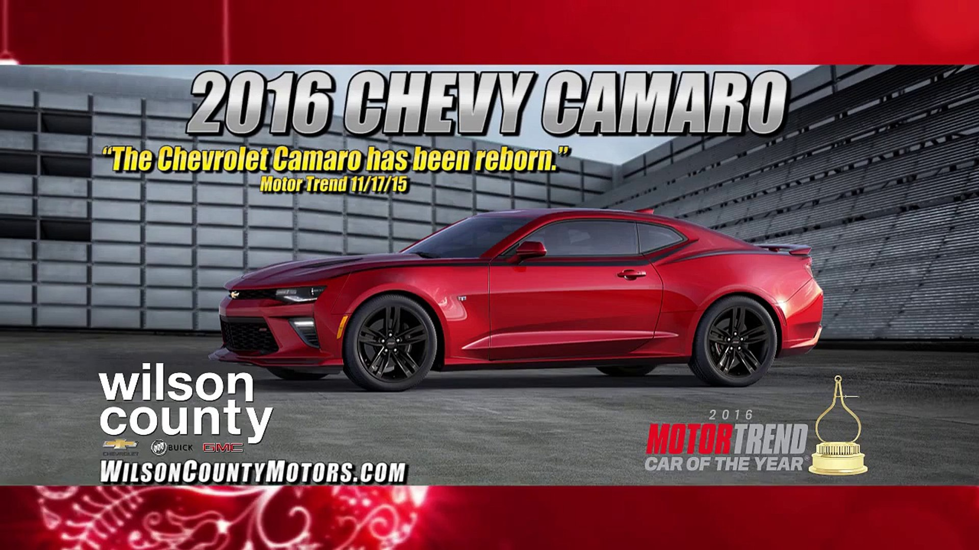 2016 Motor Trend Car and Truck of the year! 2016 Camaro and 2016  part 2