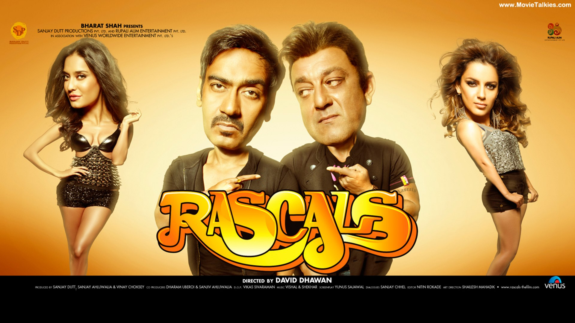 Rascals  Hindi Movies Full Movie  Ajay Devgan Full Movies  Latest Bollywood Full Movies PART 3