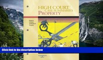 Read Online Publisher s Editorial Staff High Court Case Summaries on Property, Keyed to Cribbet