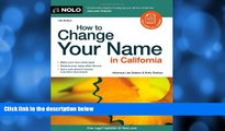 Online Lisa Sedano Attorney How to Change Your Name in California Audiobook Epub