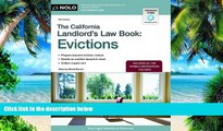 Buy NOW  The California Landlord s Law Book: Evictions (California Landlord s Law Book Vol 2 :